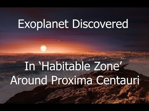 Proxima b - Exoplanet Discovered Around Nearest Star To Sun