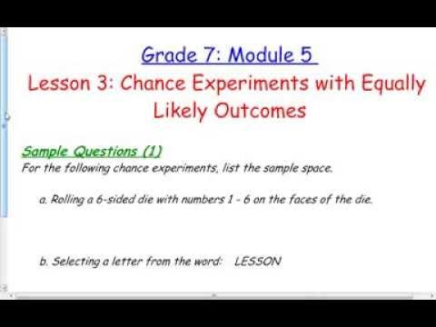 Module 5 lesson 3 grade 7