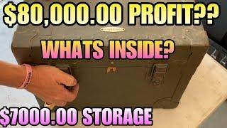 $80,000.00 PROFIT? In $7000.00 STORAGE UNIT! I bought an abandoned storage unit