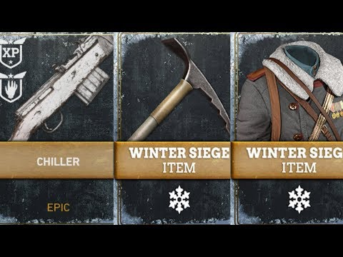 "3 FREE GUARANTEED ""WINTER SIEGE"" DLC ITEMS! NEW ""TWITCH PRIME"" NO DUPE EPIC SUPPLY DROP OPENING WW2!"
