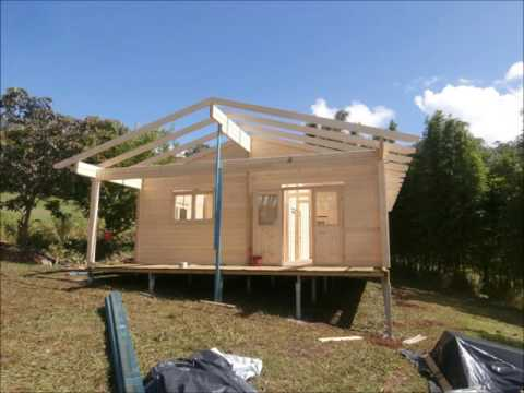 The Pandanus 60m2 Cabin kit