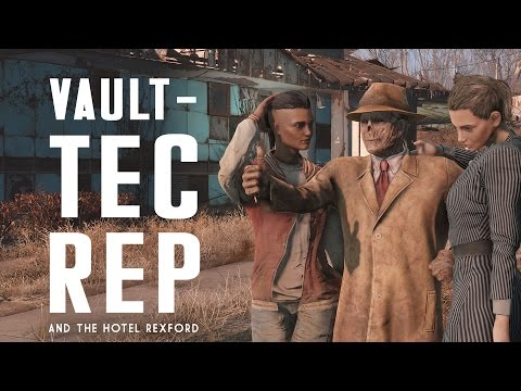 The Full Story of the Vault-Tec Rep & the Hotel Rexford - Fallout 4 Lore
