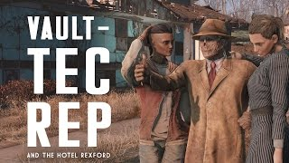 The Full Story of the Vault-Tec Rep the Hotel Rexford - Fallout 4 Lore