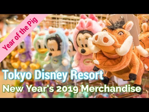 Tokyo Disneyland New Year's 2019 Merchandise Tour | JAPAN SHOPPING GUIDE