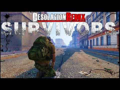 Arma 3: Dayz Survivors - Desolation Redux! The Start Of Something NEW!