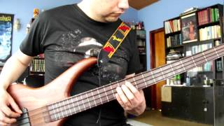 Cross Of Thorns bass cover (Black Sabbath) hd