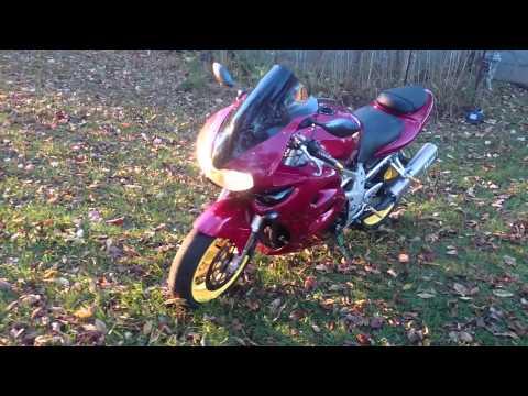 97 Suzuki Tl1000s walk around w/Muzzy exhaust