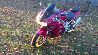 97 Suzuki Tl1000s walk around w/Muzzy exhaust