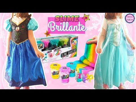 Disfraces Mágicos Frozen para niñas + Slime casero FÁCIL y SUPERFAN MAIL