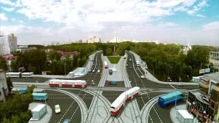 Центральный стадион в Екатеринбурге - благоустройство территории и новый трамвайный маршрут