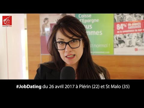 Job dating du 26 avril 2017 à Plérin (22) et St Malo (35)