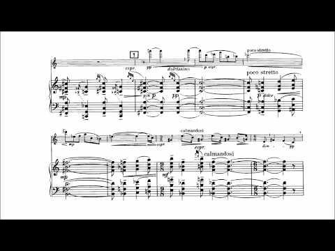 Béla Bartók - Violin Sonata No. 1 [With score]
