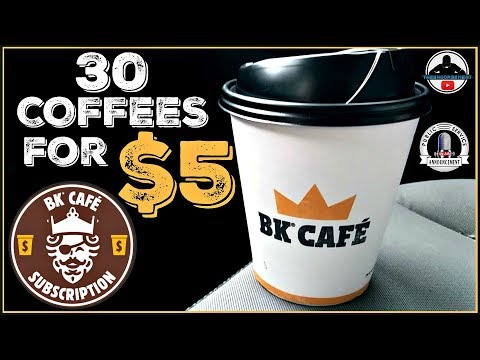 Josh and Ariel in the Morning - Burger King Has A Monthly $5 Coffee Subscription- Will You Be Signing Up?