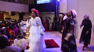 Evangelist Chioma Jesus and Mercy Chinwo Ministering Live In Warri At 7 Days Of Glory.mp3
