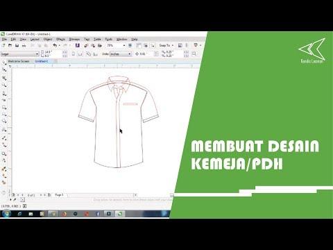 Desain Baju Kemeja Di Coreldraw Cinemapichollu