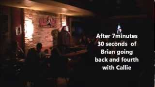 The Crowd vs Brian .... Episode 9 *Part 2 * :  Audience member gets a verbally Destroyed