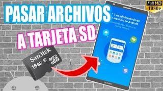 Pasar Archivos de tu Memoria Interna a Externa (SD) con File Manager 2018 screenshot 4