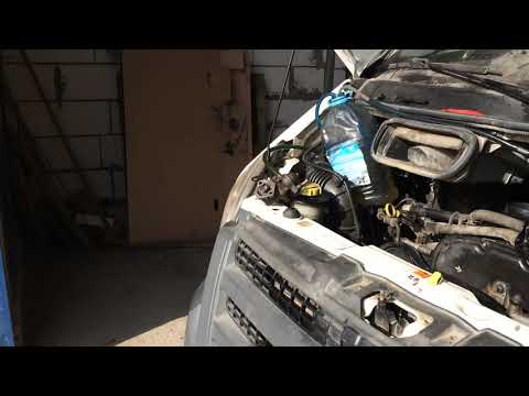 Форд Транзит 2.4D заборник бака забит грязью