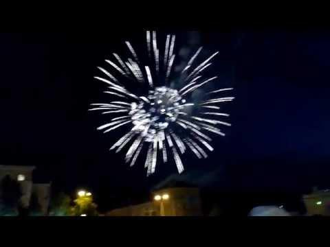 Новоуральск: День города 2014 салют!!!