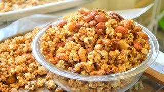 How To Make Caramel Popcorn คาลาแมลป๊อปคอร์น
