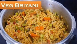 How to make quick vegetable briyani in tamil | Deepstamilkitchen