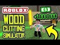 Roblox Wood cutting Simulator! - Toxic Simulations