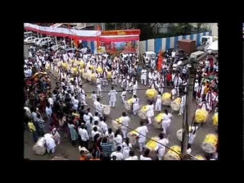 Nashik Dhol ....Parshuram Pathak 2013 Travel Video