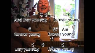 I am playing in the key of c major with my capo on second fret - making sounding d major. blowing a mouth organ. for version o...