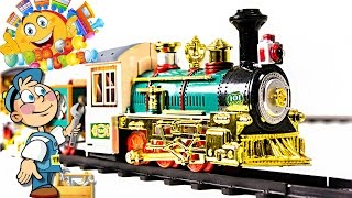 "VIDEO FOR CHILDREN ""Railway"" Toy Train 101,  Review TRAINMAN"