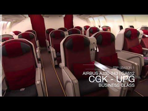 FRP S1E5 - Garuda Indonesia GA612 Domestic Executive Class Experience | Jakarta - Makassar