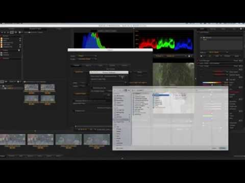 Convert Red RAW Footage Redcine X pro Tutorial