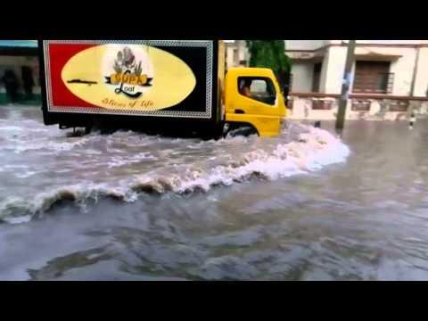 Rain in Mombasa, Kenya
