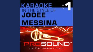 Bring On The Rain (Karaoke With Background Vocals) (In the style of JoDee Messina)