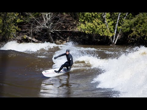 River Surfing Best Destination - The Outaouais - Canada