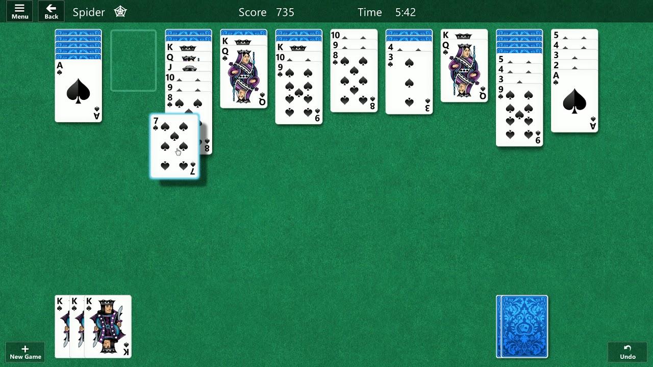 Gratis Solitär Kartenspielen
