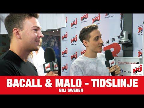 [INTERVJU] Bacall & Malo - Galen Tidslinje - NRJ SWEDEN