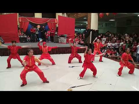 Khaypung wushu D9 performance Bandung Trade Mall,  16 Februari 2018