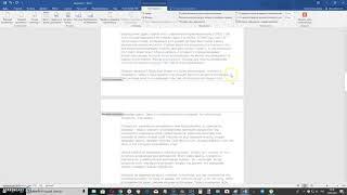 как пронумеровать страницы в Microsoft Word 2016