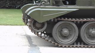 Cromwell Tank at Desert Rats Memorial
