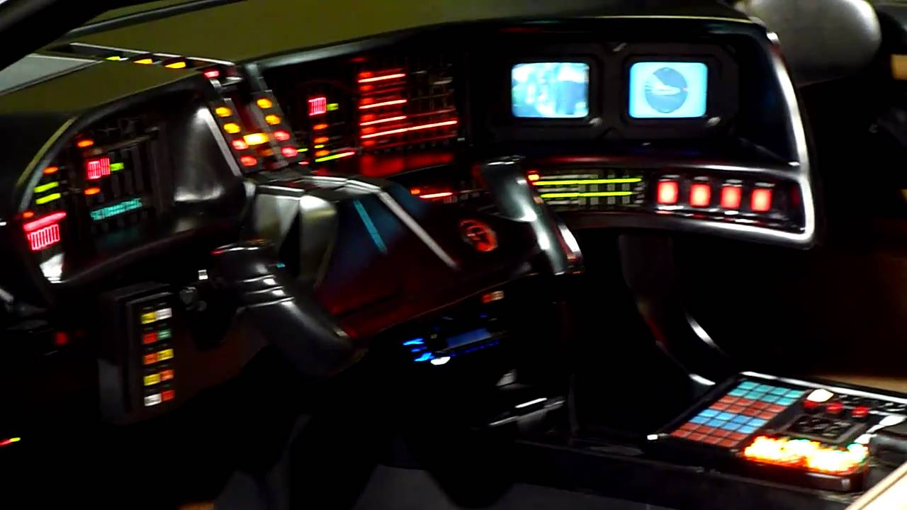 Knight Rider Car For Sale >> Knight Rider KITT - Driver side dashboard - YouTube