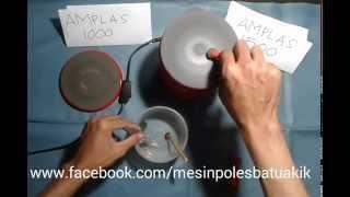 Mesin Poles Batu Akik - Gem Polishing Machine
