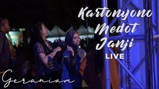 KARTONYONO MEDOT JANJI LIVE MALANG (GERANIUM)