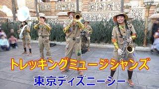 ジャングルのリズム!  トレッキングミュージシャンズ 2020.01.11 TDS ディズニーシー Tokyo DisneySEA