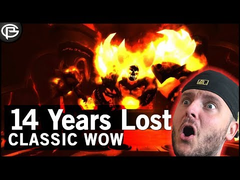 14 Year Old WoW Footage Unearthed!  Classic WoW