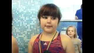 Чемпионат СК Метеор по плаванию-2016  среди детей (Днепропетровск январь)