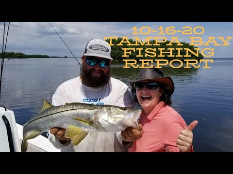 10-16-20 Tampa Bay Fishing Report