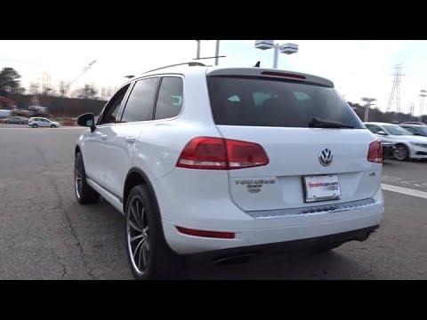 2012 Volkswagen Touareg Hickory, Morganton, Huntersville, Statesville, Gastonia, NC 30963A