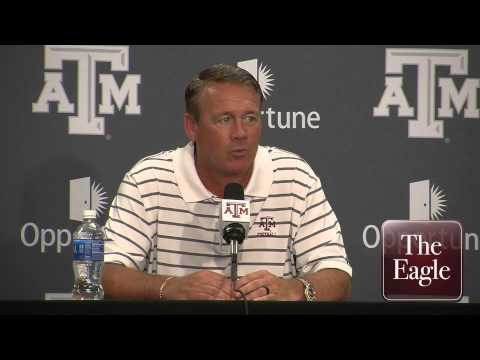 Texas A&M Coach Mark Snyder - RAW interview