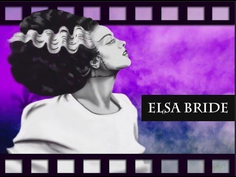 Elsa Bride Start to Finish Bride of Frankenstein
