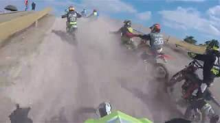 moto cross Mailly le camp 2018 : 2nde manche 85cc